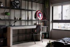 Check Out This Elegant Superhero Themed Apartment
