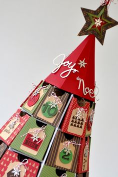 Calendrier de l'Avent Stampin up Advent Calendar Convention Stampin up Bruxelles 2014 http://mariemeyer.canalblog.com/