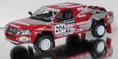 Dakar 2003 Nissan Navara Pick-Up Vatanen/Thorner 1/43