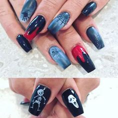 31 Jaw-dropping Halloween Designs for 2017! View them all right here ->   http://www.bestnailart.com/best-halloween-nails-31-jaw-dropping-designs-for-2017/   @bestnailartofficial