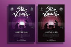 Best Christmas Church Flyer CreativeWork247 - Fonts, Graphics, Themes, Temp...