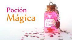 Manualidades para San Valentín ♥ BOTELLITA Miniatura con POCIÓN MÁGICA ♥...