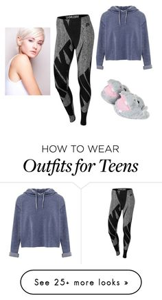 """Untitled #989"" by teszter0528 on Polyvore featuring Miss Selfridge and NIKE"