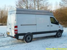 Innovation Campers in Germany do a pop top for the sprinter