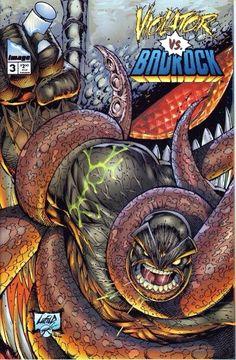 Violator vs Badrock #3 Marvel Comic Books, Comic Movies, Comic Books Art, Comic Art, Marvel Comics, Hulk Marvel, Spiderman, Savage Dragon, Death Of Superman
