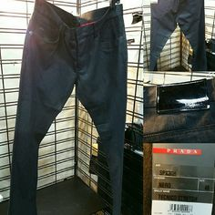 Jeans Prada Men's Jeans Prada Pants Straight Leg