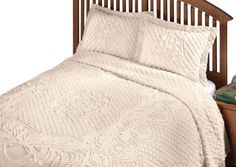 WalterDrake The Martha Chenille Bedding by East Wing Comforts WalterDrake http://smile.amazon.com/dp/B00BGAY1WG/ref=cm_sw_r_pi_dp_2PuLwb0ZD3V6N