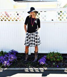LuLaRoe Madison Skirt #lularoelesleywheeler