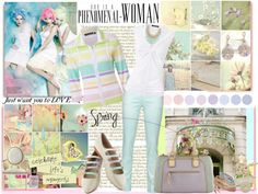 """""""Pastel Mood"""" by easystyle ❤ liked on Polyvore"""