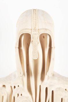 Les superbes sculptures en bois de Morgan Herrin