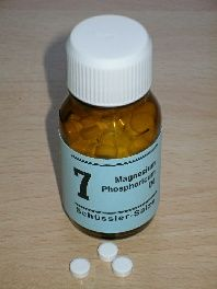 Schüssler-Salz: 7. Magnesium Phosphoricum