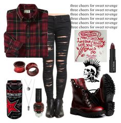 """Bored"" by xxonyx-lightwaterxx ❤ liked on Polyvore featuring BLANKNYC and Trish McEvoy"