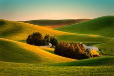 Sunrise in the Palouse by Miles Smith on 500px
