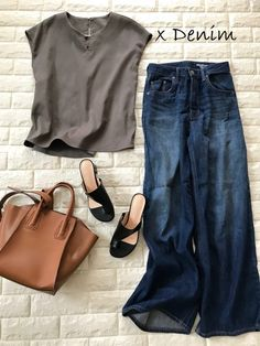 Mom Style, Simple Style, Wide Pants, Fasion, Capsule Wardrobe, Boyfriend Jeans, Spring Outfits, Casual, What To Wear
