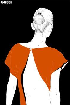.: Stéphanie Rousseau Fashion Illustrations