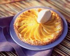 Tarte poires vanille (facile, rapide) - Une recette CuisineAZ