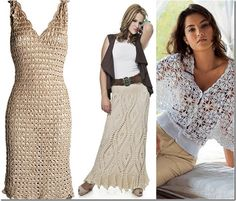 Beautiful crochet clothing