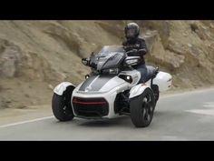 Video: In Spanien war ich auf einer Can-Am Spyder F3 Touring Testfahrt. Autobahn, Serpentinen und rings herum eine schöne Landschaft - http://HYYPERLIC.com ...
