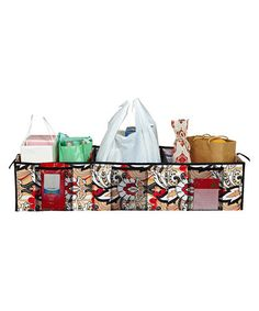 Take a look at this Serena Brit Three-Compartment Trunk Organizer by The MacBeth Collection on #zulily today!