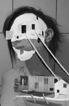 NICOLE WOGG, C-PRINT, 2014 www.nicolewogg.com Collage, Faces, Fine Art, Prints, Artwork, Work Of Art, The Face, Collage Illustration, Face