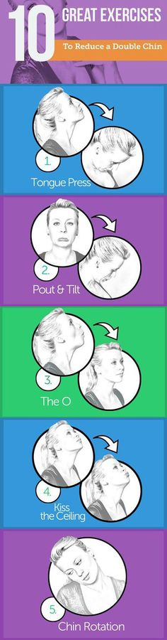 Get Rid Of Double Chin Fast and Naturally