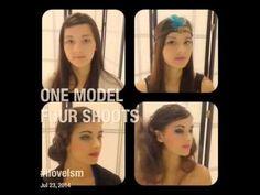 ONE MODEL - 4 LOOKS!