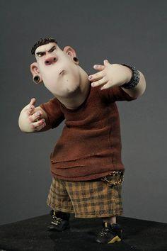 Personaje Alvin en El alucinante mundo de Norman