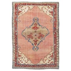 Rare (Proto) Serapi Carpet | From a unique collection of antique and modern persian rugs at https://www.1stdibs.com/furniture/rugs-carpets/persian-rugs/