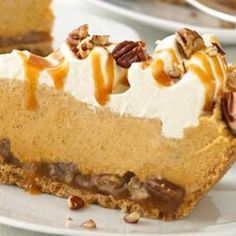 This is pretty much the same as the Kraft Turtle Pumpkin Pie (or the Publix Turtle Pumpkin Pie, depending on where you look).