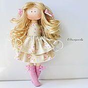 Купить или заказать Солнечная девочка. Интерьерная кукла в интернет-магазине на Ярмарке Мастеров. Ищем дом. ........................................................................................................................................................................................................................................................................