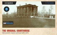 Stop 7. THE ORIGINAL COURTHOUSE View Laramie's original courthouse built in 1872. http://visitlaramie.org/Courthouse/
