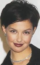 Short hair. Ashley Judd