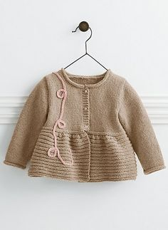 Ravelry: Cat. 13/14 - #783 - Cardigan pattern by Bergère de France