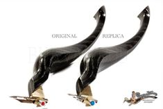Replica Obliquepenholder Bog Oak 4850