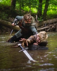 "fellandfaironline:  "" ""Your men, my lord, will follow you to whatever end."" ""To whatever end…"" (at Ithilien)  """