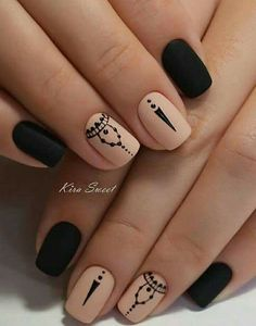 Opting for bright colours or intricate nail art isn't a must anymore. This year, nude nail designs are becoming a trend. Here are some nude nail designs. Gorgeous Nails, Pretty Nails, Perfect Nails, Nagel Tattoo, Best Nail Art Designs, Nagel Gel, Spring Nails, Summer Nails, Short Nails