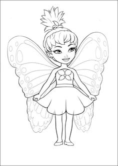barbie coloring page to print
