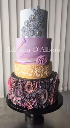 All in one by Adriana D'Albora - http://cakesdecor.com/cakes/289744-all-in-one