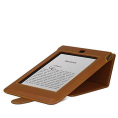 Beyzacases Flip Series designed with a perfect fit for your Kindle Touch and makes your reading more comfortable.
