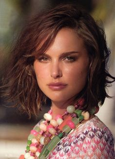 Just What Does Natalie Portman Eat, Anyway? Natalie Portman received an Academy Award for her performance in the movie, Black Cut My Hair, New Hair, Thin Hair, Straight Hair, Messy Long Bob, Short Wavy, Short Curls, Short Layers, Loose Curls