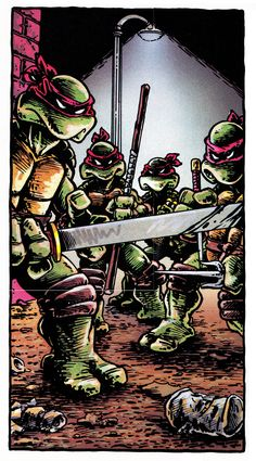 TMNT #1 - Peter Laird and Kevin Eastman