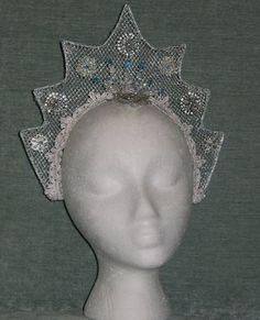 Snow Queen kokoshnik Russian style tiara ballet by SharpSewing, $200.00