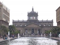 Hospicio Cabanas in Guadalajara, Mexico...the building itself is beautiful but the murals inside by Jose Clemente Orozco is breathtaking!