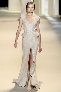 no words Elie Saab 2011