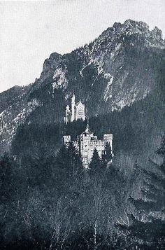 Munich and Co: Photographie: les châteaux de Hohenschwangau et de... Impératrice Sissi, Neuschwanstein Castle, Bavaria Germany, Munich, Joseph, Moose Art, Photography, Germany, Monaco