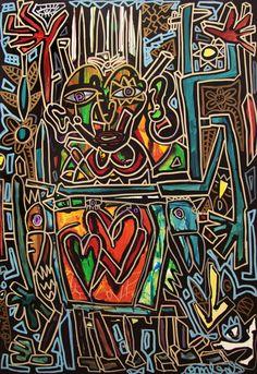 Robert Combas - Love