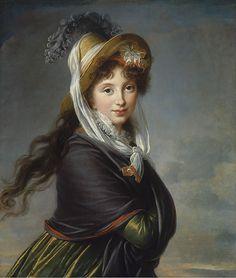 Marie Louise Elisabeth Vigée-Le Brun, Portrait of a Young Woman, Robert Dawson Evans Collection, Photography ©2013 Museum of Fine Arts, Bost...