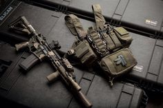 Rifle and Chest Rig