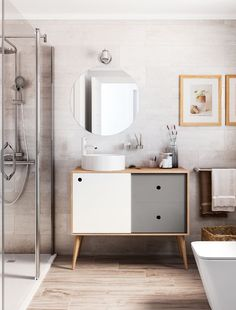 Amazing And Gorgeous Bathroom Decoration Ideas You Must Love; Bathroom Remodel Cost, Bathroom Renovations, Large Bathrooms, Small Bathroom, Bathroom Ideas, Minimal Bathroom, Bathroom Designs, Bathroom Storage, Bad Inspiration