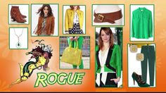 Superhero 1/5 Rogue outfit